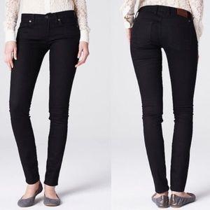 Lucky Brand Black Sofia Skinny Jeans 12
